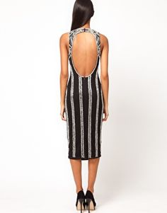 Enlarge ASOS Bodycon Dress in Baroque Embellishment