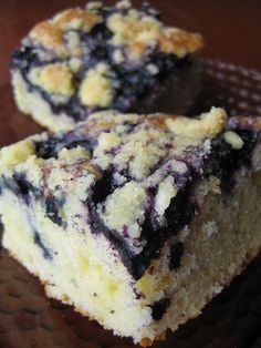 Finnish blueberry dessert; tasted at an international bake-off, really delicious!