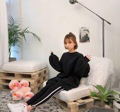 Buy chuu Striped Leggings | YesStyle
