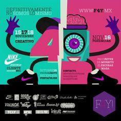 F4Y, secuencia de ponencias y laboratorio de ideas para diseñadores mexicanos