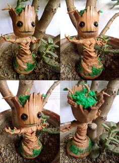 Little Groot - Guardian of the Galaxy - comission by yuisama.deviantart.com on @deviantART