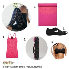 North of Here Fit Girls Christmas Gift Guide - yoga and pilates