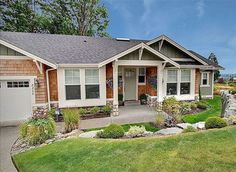 Attractive Northwest Ranch - 2330JD | 1st Floor Master Suite, CAD Available, Craftsman, Den-Office-Library-Study, Northwest, PDF, Photo Gallery, Ranch | Architectural Designs