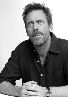 Dr. House played by #hughlaurie