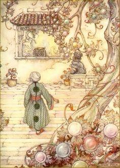 The Arabian Nights by Anton Pieck.