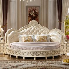 royal furniture - Google Search Royal Furniture, Classic Furniture, Bedroom Furniture, Home Furniture, Cheap Bedroom Sets, King Bedroom Sets, Bed Price, Round Beds, Quality Furniture