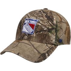 0271ce0e893  47 New York Rangers Realtree Camo Clean Up Adjustable Hat