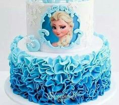 Elsa cake More