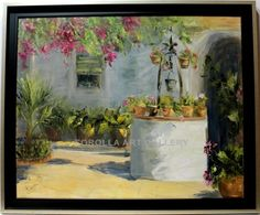 Rosa Maria : Well. Medium: Oil on canvas Measurements (cm): 112x93 Canvas measurements (cm): 100x81 Interior frame: Yes. Excellent artwork with a wide and beautiful color palette. A good investment in art.  $2,313.33