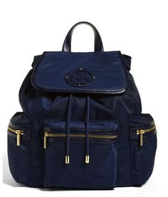 Tory Burch backpack - the backpack is back on redsoledmomma.com