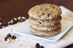Sarah Bakes Gluten Free Treats: gluten free vegan chocolate chip breakfast cookies