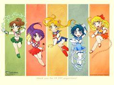 Sailor Warriors    Sailor Moon  Sailor Mercury  Sailor Mars  Sailor Jupiter  Sailor Venus