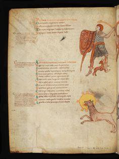 Bern, Burgerbibliothek, Cod. 88: Aratus – Germanicus: Phènomènes · Saint Bertin · Début du XIe siècle Langue:Latin (http://www.e-codices.unifr.ch/fr/list/one/bbb/0088)