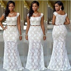 Online Hub For Fashion Beauty And Health: Beautiful Lace Long Skirt And Jumpy Blouse For Bol...