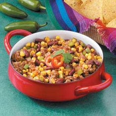 Chuck Wagon Chow Recipe | Taste of Home Recipes......hubby and kids love this on rainy days