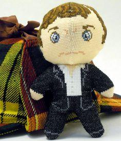 Sherlock 3D Cross Stitch Doll and Sewing Pattern PDF