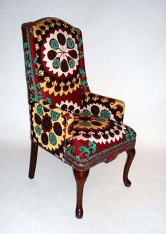 Suzani upholstery <3