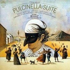 Stravinsky - Pulcinella: Suite by Pierre Boulez & New York Philharmonic from CBS Masterworks (76680)