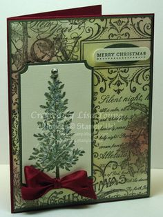 Christmas Collage and Tree by genesis - Cards and Paper Crafts at Splitcoaststampers