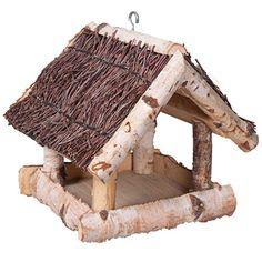 Bird House Feeder, Diy Bird Feeder, Diy Wooden Planters, Wooden Diy, Wood Projects, Woodworking Projects, Bird House Plans Free, Birdhouse Craft, Twig Crafts