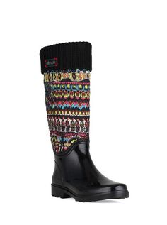fd7ae2e02d1 Weather-ready, warm and fun, the new reprise quilted rainboot is perfect  for a rainy or snowy day. Choose your favorite artist print!