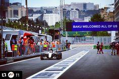 #Repost @f1  Fastest in both sessions so far: @lewishamilton #F1Baku #EuropeGP #F1 #Formula1 #Mercedes #Hamilton