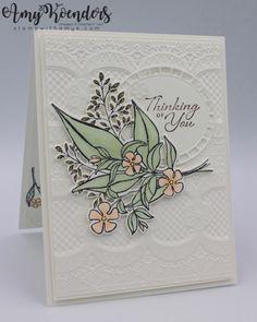 Stampin' Up! Wonderful Romance Sneak Peek – Stamp With Amy K Romance, Wedding Anniversary Cards, Wedding Cards, Happy Anniversary, Hand Stamped Cards, Embossed Cards, Stamping Up Cards, Wedding Card Design, Kylie