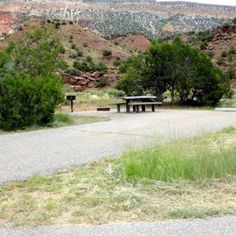 Exploring New Mexico by RV: Best Places to Camp in the Land of Enchantment Jemez Springs, Hot Springs, Rv Parks, State Parks, Santa Fe National Forest, New Mexico Camping, New Mexico Homes, Best Places To Camp, Land Of Enchantment
