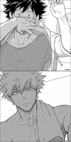 Izuku Midoriya and Katsuki Bakugo || Boku no Hero Academia