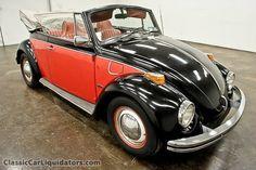 1970 Volkswagon Beetle Convertible - I love this...so cute