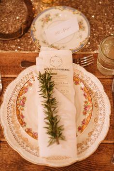 wedding reception decor idea; photo: Two Birds Photography