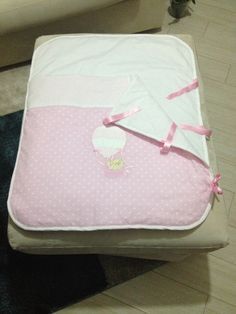 Hand made baby sleeping bag.