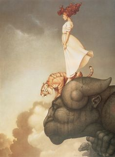 Fuck Yeah Illustrative Art! • lohrien: Illustrations by Michael Parkes