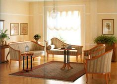 Biedermeier Interior Style, Comfortable and Sentimental Home Decorating Ideas