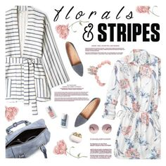 """Florals & Stripes Contest! Enter!"" by kearalachelle ❤ liked on Polyvore featuring Gap, Tucker and Chloé"