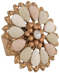 #Forever21                #ring                     #Beaded #Flower #Ring #FOREVER21 #1076808043        Beaded Flower Ring | FOREVER21 - 1076808043                                   http://www.seapai.com/product.aspx?PID=90759