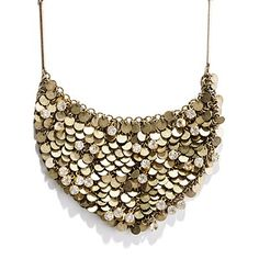 moonlight sparkle bib necklace  $108.00  Item# 68346  This rhinestone-flecked statement necklace moves when you do, which means it will be a major hit when dancing is on the agenda.