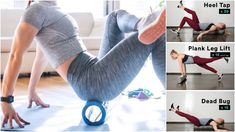 Roll Away Everything From Leg To Back Pain With This 5 Exercise Foam Roller Workout - GymGuider.com Tight Quads, Tight Hamstrings, Build Muscle Fast, Gain Muscle, Muscle Mass, Achilles Pain, Roller Workout, Sore Shoulder, Stretches For Flexibility