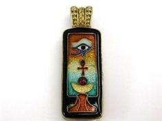 Egyptian Eye of Horus Pendant