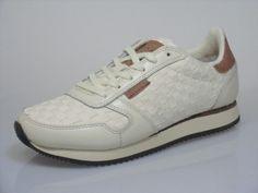 e709e09eafa Hvid sneakers model Ydun fra Woden i lækker flet. - Køb sko her - Shoebaloo