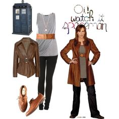 Outfits l Doctor Who l DW l Donna Noble l Donna