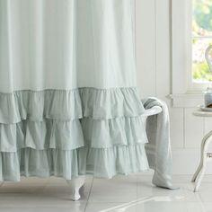 Cortina de baño con diseños especiales #Decoración #Baño #Cortinas