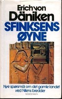 """""""Sfinksens øyne - nye spørsmål om det gamle landet ved Nilens bredder"""" av Erich von Däniken"""