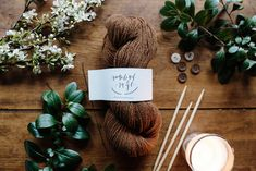 Sustainable Textiles, Wool Yarn, Knitting Projects, Small Gifts, Fiber, Place Card Holders, Germany, Sage, Creativity