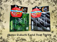 Talkative Tya: [REVIEW - SPONSORED] Shizen Gokochi Facial Soap Green Tea