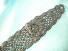 PATTERN for Crochet Net Headband
