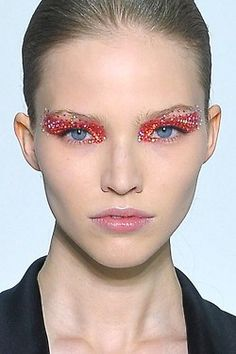 runway makeup | Tumblr