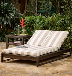 Outstanding Comfort And Structural Integrity Make Our Palermo Double Chaise  Lounge A Welcome Addition Outdoors.