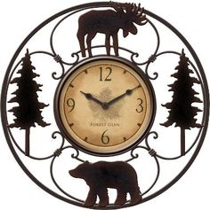 Wildlife Wire Clock : Cabelas