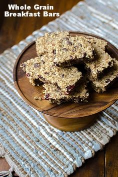 Whole Grain Breakfast Bars | Bob's Red Mill vegan